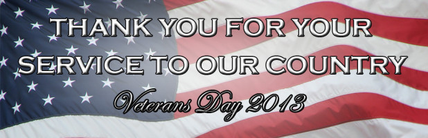 veterans day banner 2013